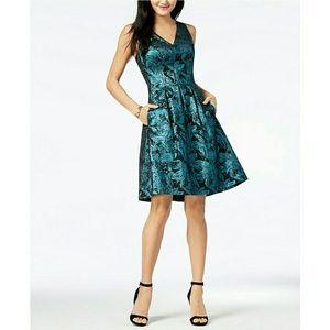 Nine West Metallic Jacquard Dress NWT *PRICE FIRM*